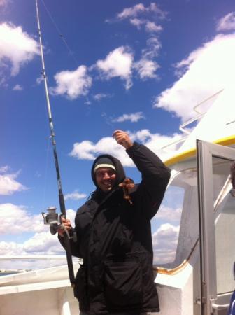 Sortie pêche à Carnon