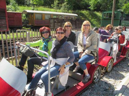 Vélo rail et Tournon